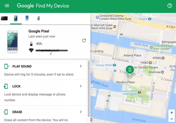 android find my phone
