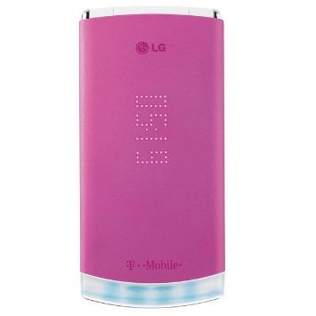 pink flip phone