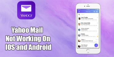yahoo mail not working on android